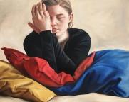 Keep close 63 x 73 cm Oil on canvas 2018