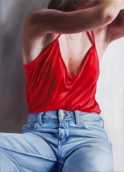 Date night 70 x 50 cm Oil on canvas 2017