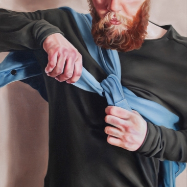 Things to carry with (jacket) 50 x 60 cm Oil on canvas 2018