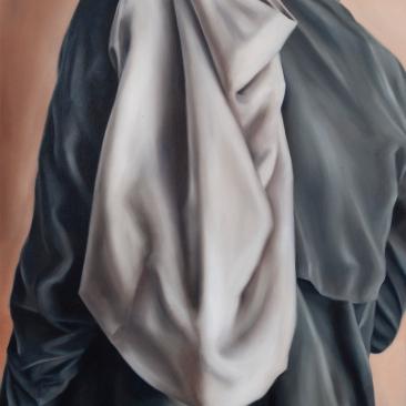 Traveler 45 x 60 cm Oil on canvas 2018