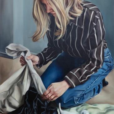 Collector 76 x 61 cm Oil on canvas 2019