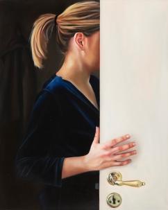 Hidden door 76 x 61 cm Oil on canvas 2019