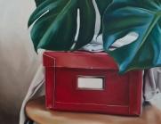 Secrets 46 x 36 cm Oil on canvas 2019