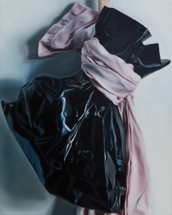 Things to carry with (black bag) 55 x 45 cm Oil on canvas 2018