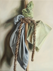 Things to carry with (rope) 46 x 61 cm Oil on canvas 2018