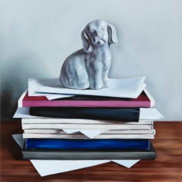 Diaries II 30 x 40 cm Oil on canvas 2019