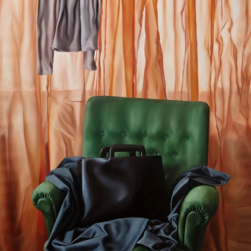 The waiting room, 100 x 120 cm, oil on canvas, 2019
